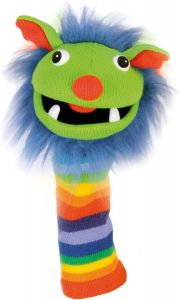 Rainbow Sockette Puppet