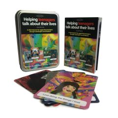 Helping Teenagers Talk About Their Lives Card Set