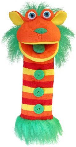 Buttons Sockette Puppet