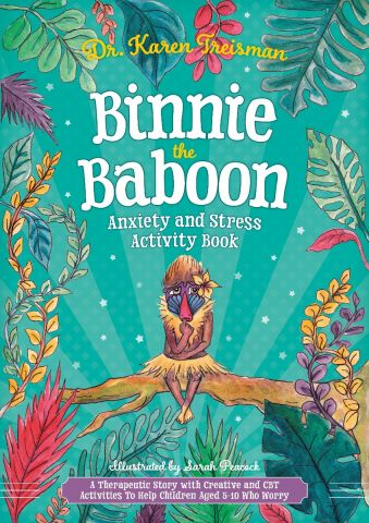 Binnie the Baboon Anxiety & Stress Activity Book