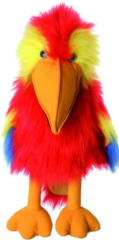 Scarlet Macaw Puppet