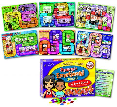 Personal & Emotional Skills Board Games