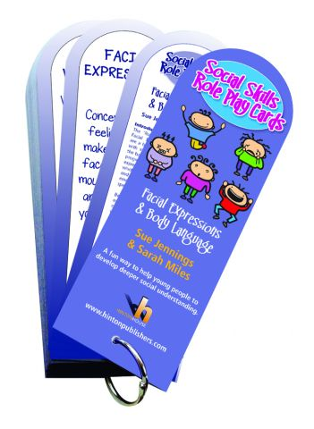 Social Skills Role Play Cards Set 1 Facial Expressions & Body Language