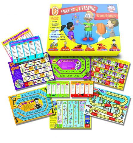 Speaking & Listening Board Games