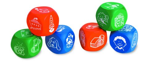 Soft Foam Story Starter Picture Cubes