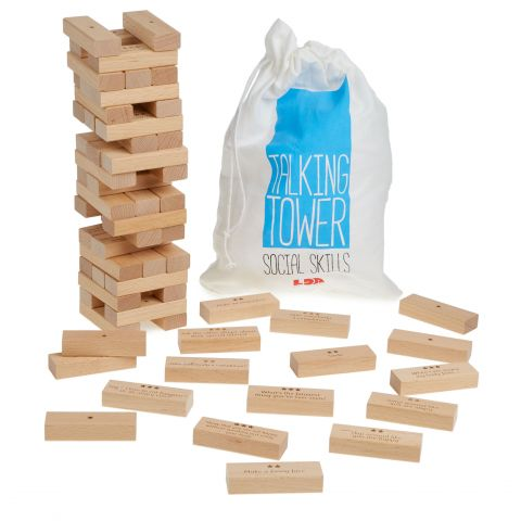 Talking Tower ('Jenga'): Social Skills